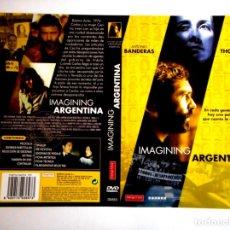 Cine: CARÁTULA IMAGINING ARGENTINA ( DVD ). Lote 183268253