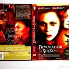 Cine: CARÁTULA DEVORADOR DE SUEÑOS ( DVD ). Lote 183269231