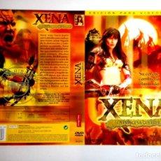Cine: CARÁTULA XENA LA PRINCESA GUERRERA ( DVD ). Lote 183269480
