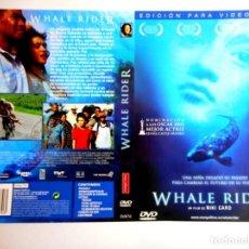 Cine: CARÁTULA WHALE RIDER ( DVD ). Lote 183270983