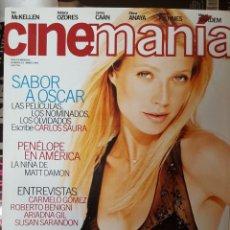 Cine: REVISTA / CINEMANIA Nº 42. Lote 183338485