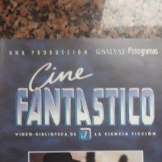 Cinema: FASCICULO CINE CIENCIA FICCION BATMAN JACK NICHOLSON BORIS KARLOFF. Lote 183341480