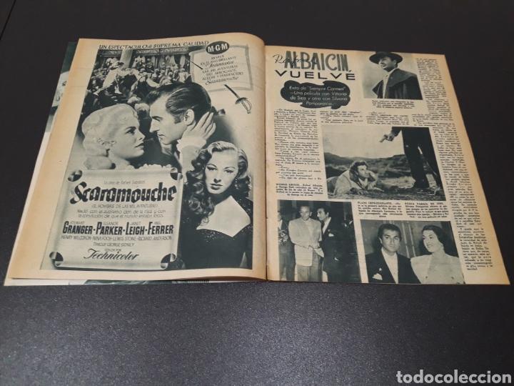 Cine: RITA HAYWORTH, LUCILLE BALL, MARIO CABRE, RAFAEL ALBAICIN, JOEL MC.CREA, JORGE LANZA. 18/01/1953. - Foto 7 - 183368835