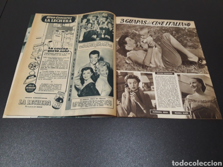Cine: RITA HAYWORTH, LUCILLE BALL, MARIO CABRE, RAFAEL ALBAICIN, JOEL MC.CREA, JORGE LANZA. 18/01/1953. - Foto 8 - 183368835