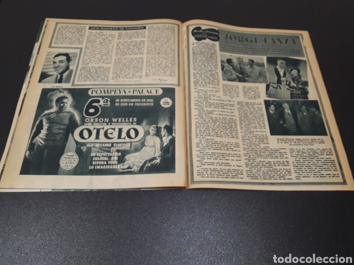 Cine: RITA HAYWORTH, LUCILLE BALL, MARIO CABRE, RAFAEL ALBAICIN, JOEL MC.CREA, JORGE LANZA. 18/01/1953. - Foto 12 - 183368835