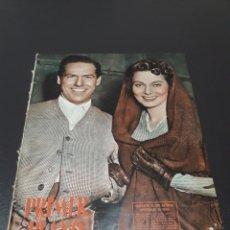 Cine: MARIO CABRÉ, MARTA TOREN, ANN MILLER, EDGAR NEVILLE, RORY CALHOUN, CARLOS LEMOS. 08/02/1953. N° 643.. Lote 183376707