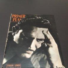 Cine: CARLOS LEMOS, GINGER ROGERS, RAFAEL GIL, FRANCISCO RABAL, MARLENE DIETRICH. 15/02/1953. N° 644.. Lote 183377770
