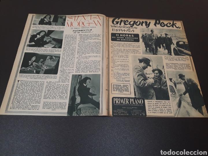 Cine: ROBERT TAYLOR, AVA GARDNER, GREGORY PEEK, LANA TURNER, MALU TICA. 01/03/1953. N° 646. - Foto 2 - 183380518