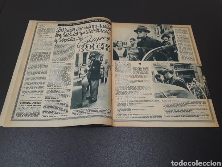 Cine: ROBERT TAYLOR, AVA GARDNER, GREGORY PEEK, LANA TURNER, MALU TICA. 01/03/1953. N° 646. - Foto 3 - 183380518