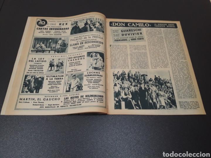 Cine: ROBERT TAYLOR, AVA GARDNER, GREGORY PEEK, LANA TURNER, MALU TICA. 01/03/1953. N° 646. - Foto 4 - 183380518