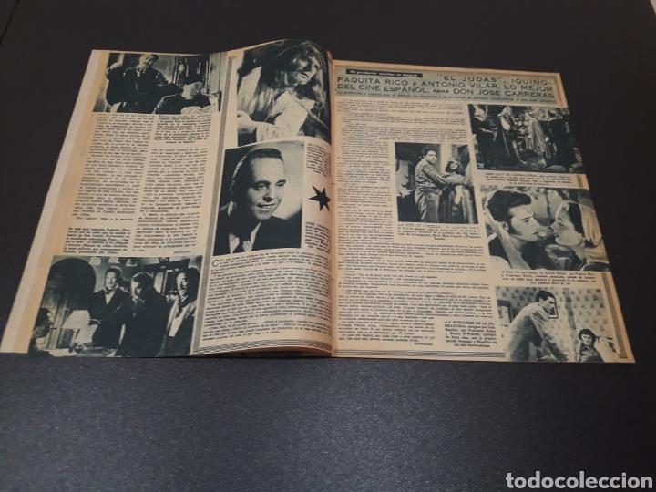 Cine: ROBERT TAYLOR, AVA GARDNER, GREGORY PEEK, LANA TURNER, MALU TICA. 01/03/1953. N° 646. - Foto 5 - 183380518