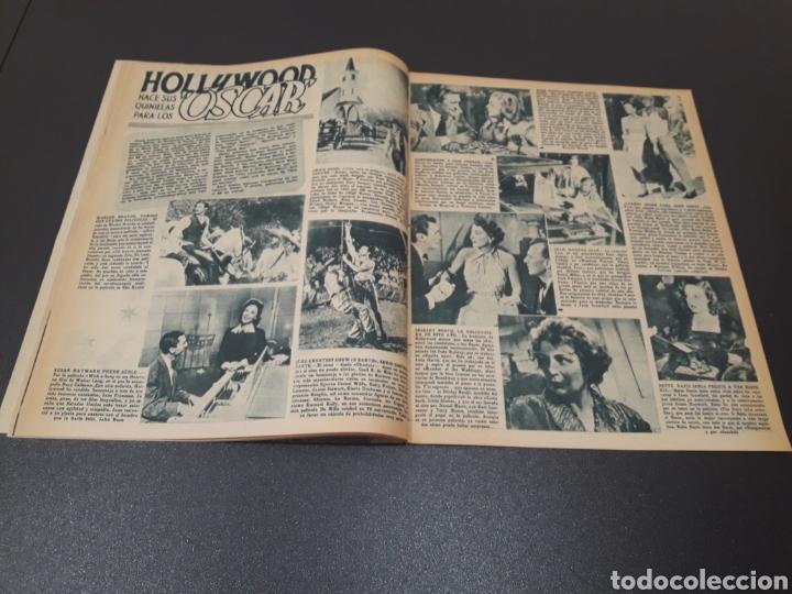 Cine: ROBERT TAYLOR, AVA GARDNER, GREGORY PEEK, LANA TURNER, MALU TICA. 01/03/1953. N° 646. - Foto 7 - 183380518