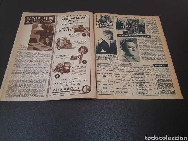 Cine: ROBERT TAYLOR, AVA GARDNER, GREGORY PEEK, LANA TURNER, MALU TICA. 01/03/1953. N° 646. - Foto 10 - 183380518
