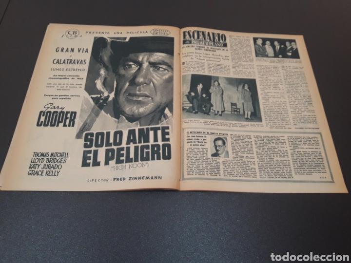Cine: ROBERT TAYLOR, AVA GARDNER, GREGORY PEEK, LANA TURNER, MALU TICA. 01/03/1953. N° 646. - Foto 12 - 183380518