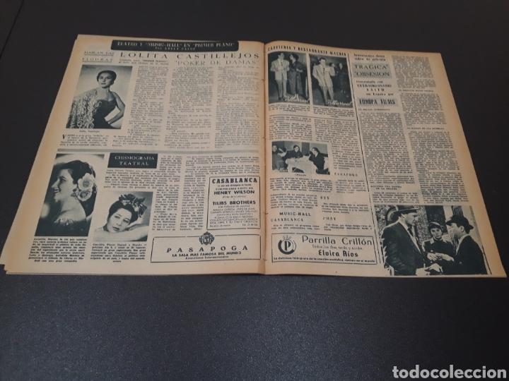 Cine: ROBERT TAYLOR, AVA GARDNER, GREGORY PEEK, LANA TURNER, MALU TICA. 01/03/1953. N° 646. - Foto 13 - 183380518
