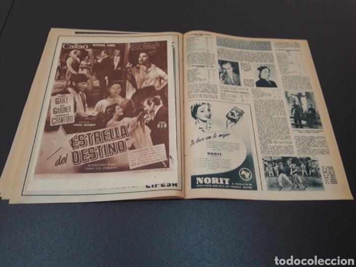Cine: ROBERT TAYLOR, AVA GARDNER, GREGORY PEEK, LANA TURNER, MALU TICA. 01/03/1953. N° 646. - Foto 14 - 183380518