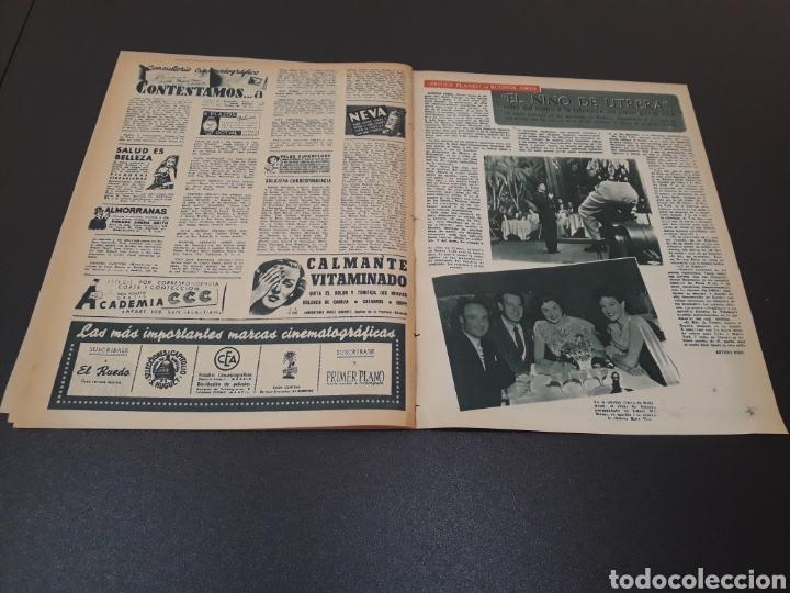 Cine: ROBERT TAYLOR, AVA GARDNER, GREGORY PEEK, LANA TURNER, MALU TICA. 01/03/1953. N° 646. - Foto 16 - 183380518