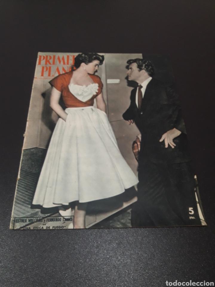 ESTHER WILLIAMS, FERNANDO LAMAS, VIVIEN LEIGH, GENE KELLY, ANN SHERIDAN. 1953. (Cine - Revistas - Primer plano)