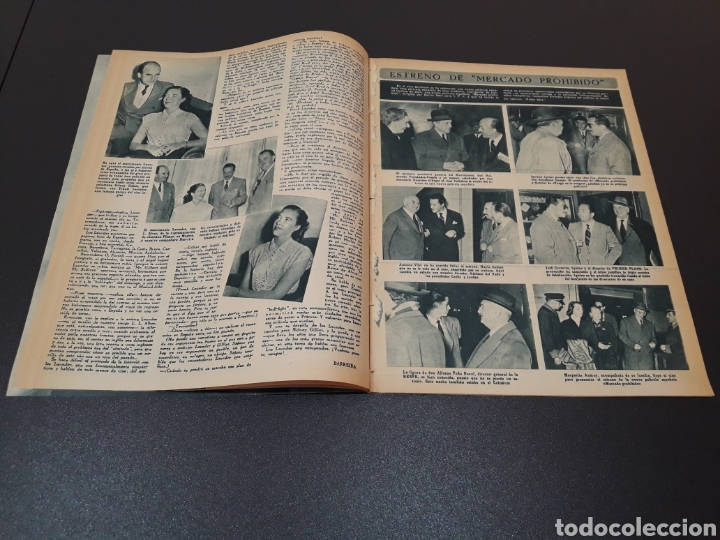 Cine: MARUCHI FRESNO, ANA MARISCAL, VIVIEN LEIGH, GENE KELLY, JOSÉ BOHR, BETTE DAVIS. 29/03/1953. N° 650. - Foto 6 - 183383317