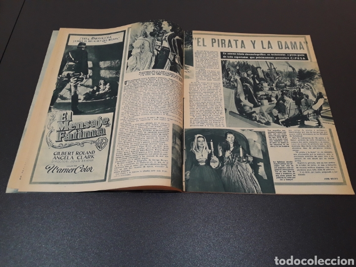 Cine: MARUCHI FRESNO, ANA MARISCAL, VIVIEN LEIGH, GENE KELLY, JOSÉ BOHR, BETTE DAVIS. 29/03/1953. N° 650. - Foto 7 - 183383317