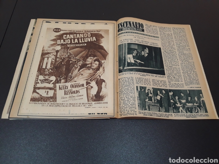 Cine: MARUCHI FRESNO, ANA MARISCAL, VIVIEN LEIGH, GENE KELLY, JOSÉ BOHR, BETTE DAVIS. 29/03/1953. N° 650. - Foto 14 - 183383317