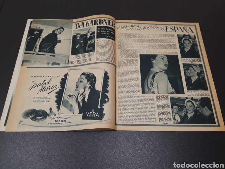 Cine: ANA ESMERALDA, AVA GARDNER, VIVIEN LEIGH, JEAN COCTEAU. N° 652. 12/04/1953. - Foto 3 - 183396570