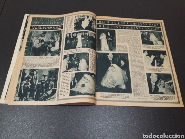 Cine: ANA ESMERALDA, AVA GARDNER, VIVIEN LEIGH, JEAN COCTEAU. N° 652. 12/04/1953. - Foto 4 - 183396570