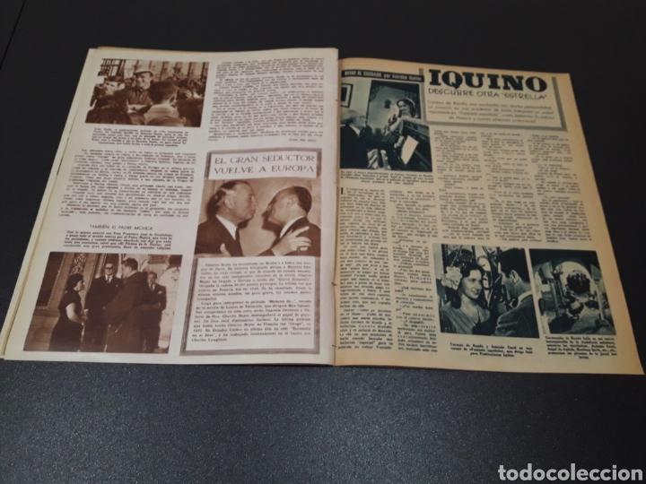 Cine: ANA ESMERALDA, AVA GARDNER, VIVIEN LEIGH, JEAN COCTEAU. N° 652. 12/04/1953. - Foto 10 - 183396570