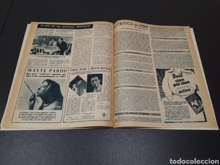 Cine: ANA ESMERALDA, AVA GARDNER, VIVIEN LEIGH, JEAN COCTEAU. N° 652. 12/04/1953. - Foto 14 - 183396570