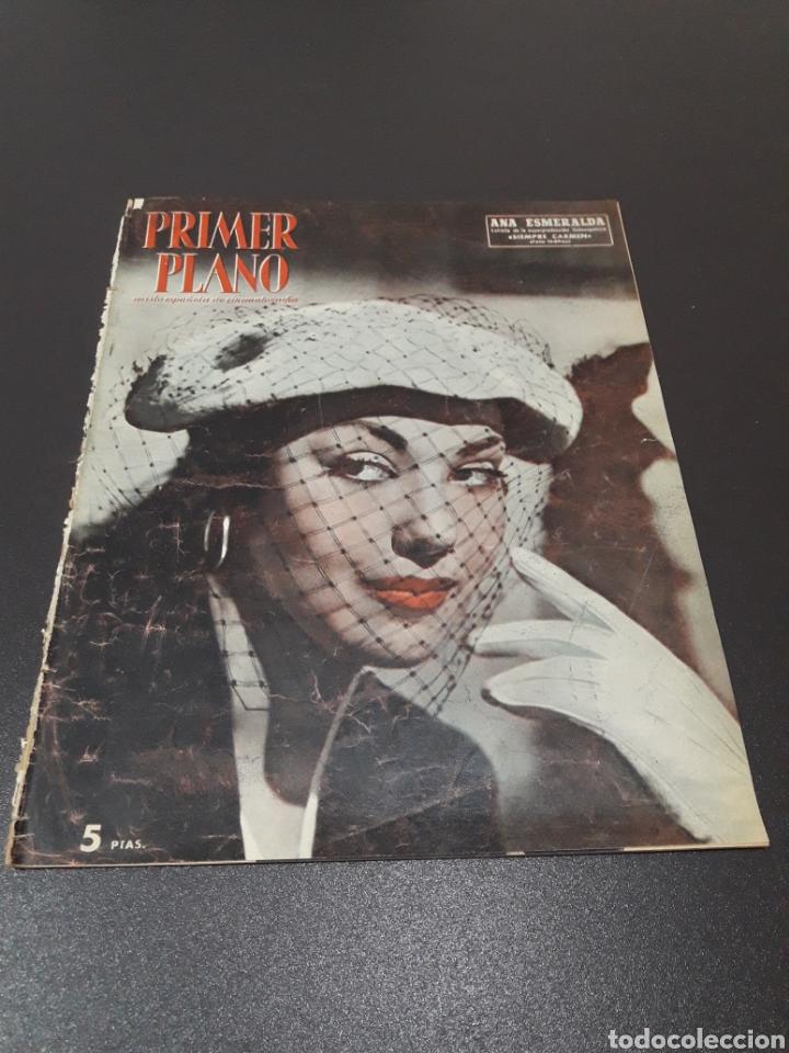 ANA ESMERALDA, AVA GARDNER, VIVIEN LEIGH, JEAN COCTEAU. N° 652. 12/04/1953. (Cine - Revistas - Primer plano)