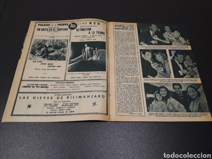 Cine: ISSA PEREIRA, JEAN TISSIER, DANIELLE DARRIEUX, CHARLES BOYER. N° 660. 7/06/1953. - Foto 3 - 183402345