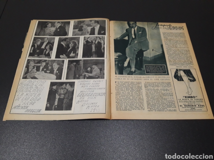 Cine: ISSA PEREIRA, JEAN TISSIER, DANIELLE DARRIEUX, CHARLES BOYER. N° 660. 7/06/1953. - Foto 4 - 183402345