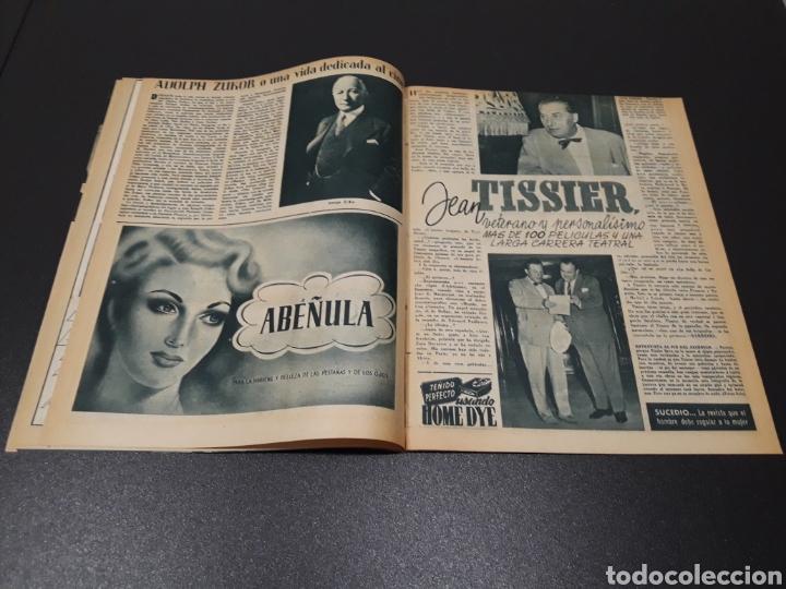 Cine: ISSA PEREIRA, JEAN TISSIER, DANIELLE DARRIEUX, CHARLES BOYER. N° 660. 7/06/1953. - Foto 5 - 183402345