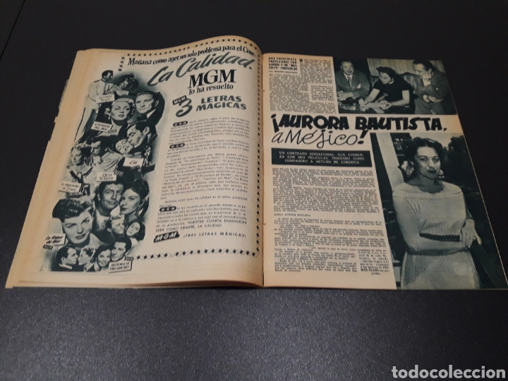 Cine: ISSA PEREIRA, JEAN TISSIER, DANIELLE DARRIEUX, CHARLES BOYER. N° 660. 7/06/1953. - Foto 7 - 183402345