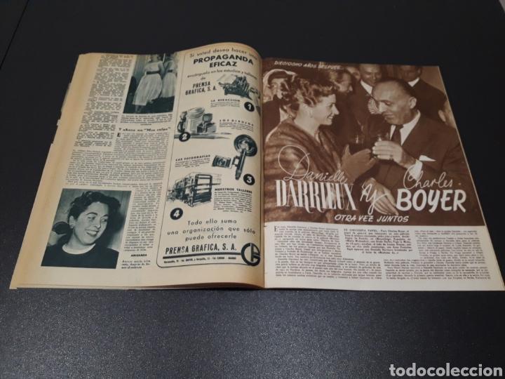 Cine: ISSA PEREIRA, JEAN TISSIER, DANIELLE DARRIEUX, CHARLES BOYER. N° 660. 7/06/1953. - Foto 8 - 183402345