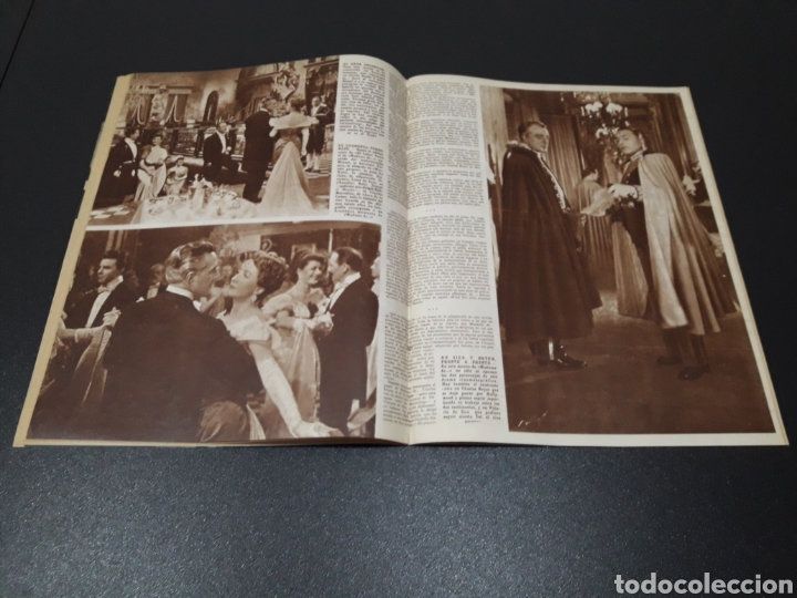 Cine: ISSA PEREIRA, JEAN TISSIER, DANIELLE DARRIEUX, CHARLES BOYER. N° 660. 7/06/1953. - Foto 9 - 183402345