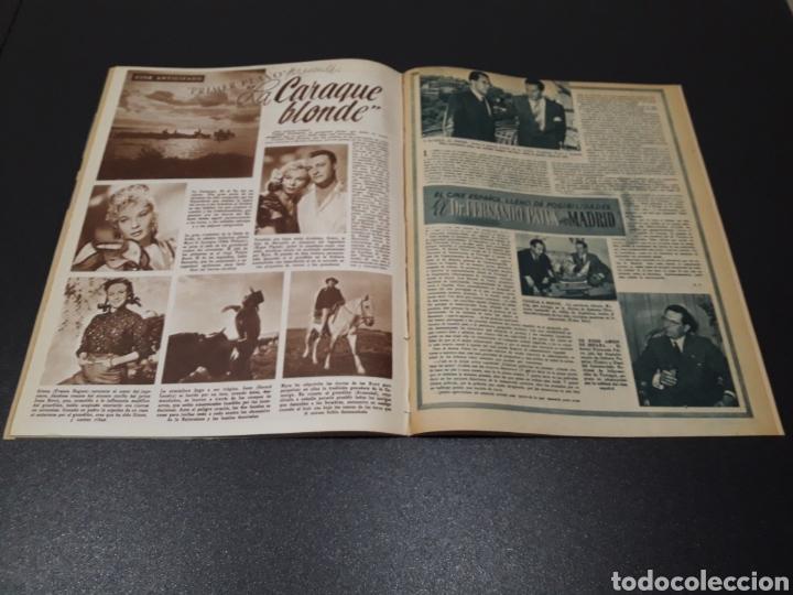 Cine: ISSA PEREIRA, JEAN TISSIER, DANIELLE DARRIEUX, CHARLES BOYER. N° 660. 7/06/1953. - Foto 10 - 183402345
