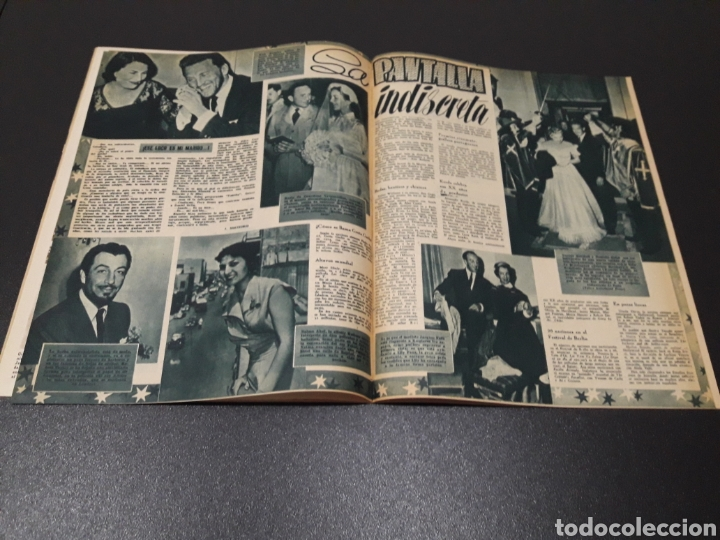 Cine: ISSA PEREIRA, JEAN TISSIER, DANIELLE DARRIEUX, CHARLES BOYER. N° 660. 7/06/1953. - Foto 11 - 183402345