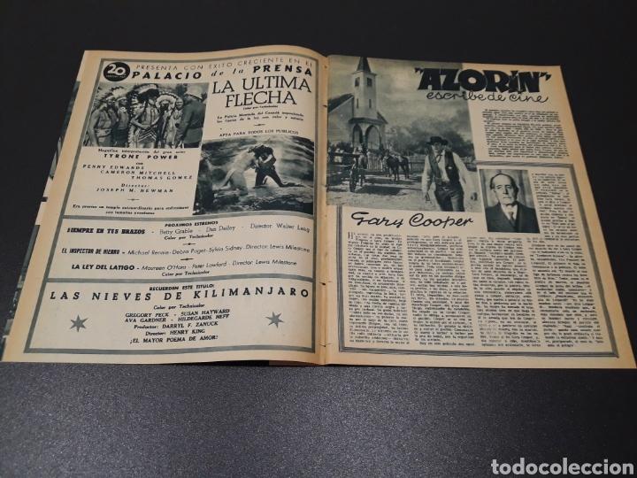 Cine: ASUNCION DE SANDE, CLAUDE LAYDU, MARLENE DIETRICH, GARY COOPER, ELENA MAYA. N° 662. 21/06/1953. - Foto 3 - 183404201