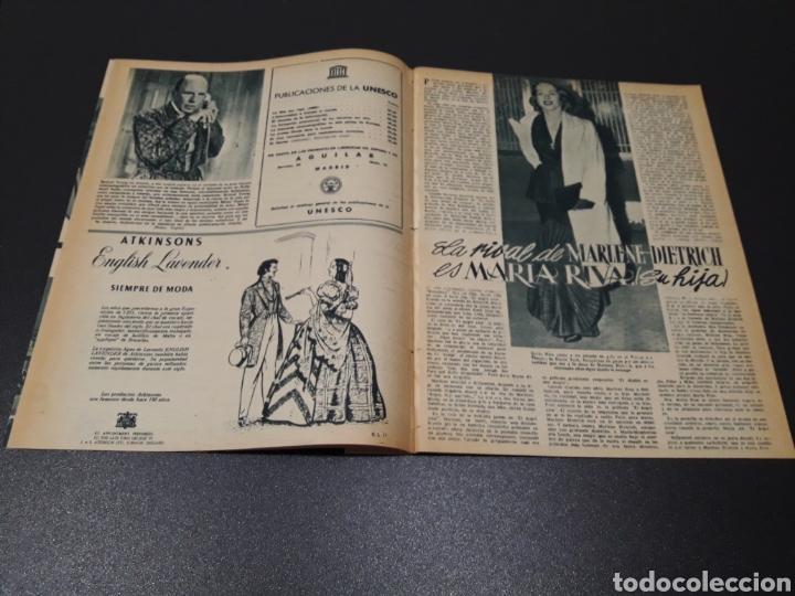 Cine: ASUNCION DE SANDE, CLAUDE LAYDU, MARLENE DIETRICH, GARY COOPER, ELENA MAYA. N° 662. 21/06/1953. - Foto 6 - 183404201