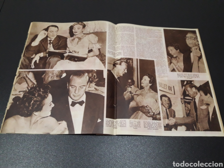 Cine: ASUNCION DE SANDE, CLAUDE LAYDU, MARLENE DIETRICH, GARY COOPER, ELENA MAYA. N° 662. 21/06/1953. - Foto 9 - 183404201