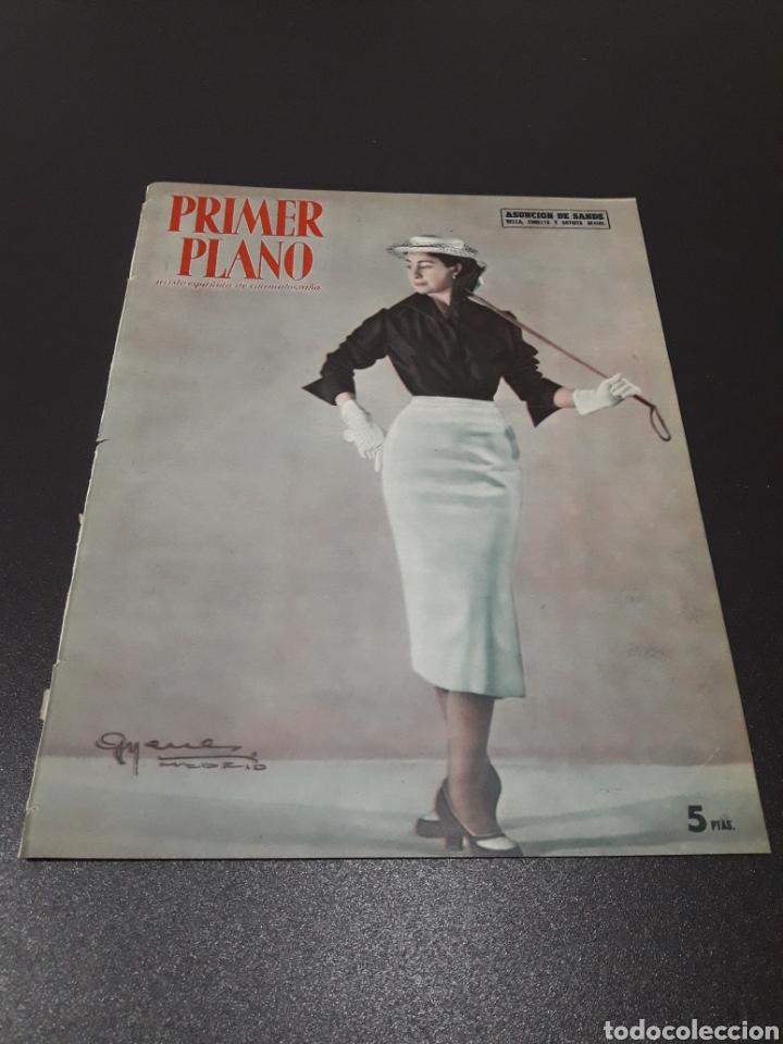 ASUNCION DE SANDE, CLAUDE LAYDU, MARLENE DIETRICH, GARY COOPER, ELENA MAYA. N° 662. 21/06/1953. (Cine - Revistas - Primer plano)