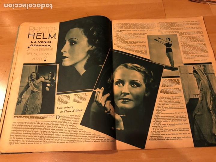 Cine: Cinegramas 80 marzo 1936.marta eggerth Brigitte helm norma shearer charlie chaplin charlot - Foto 3 - 183427632