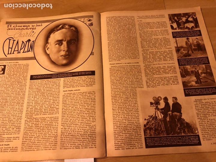 Cine: Cinegramas 80 marzo 1936.marta eggerth Brigitte helm norma shearer charlie chaplin charlot - Foto 4 - 183427632