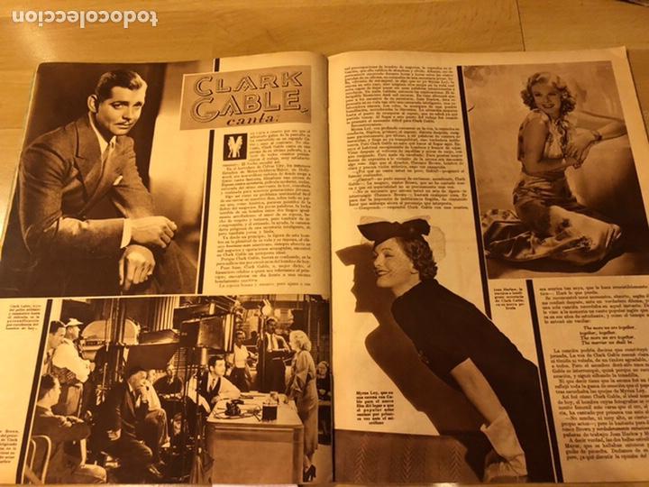 Cine: Cinegramas 80 marzo 1936.marta eggerth Brigitte helm norma shearer charlie chaplin charlot - Foto 5 - 183427632