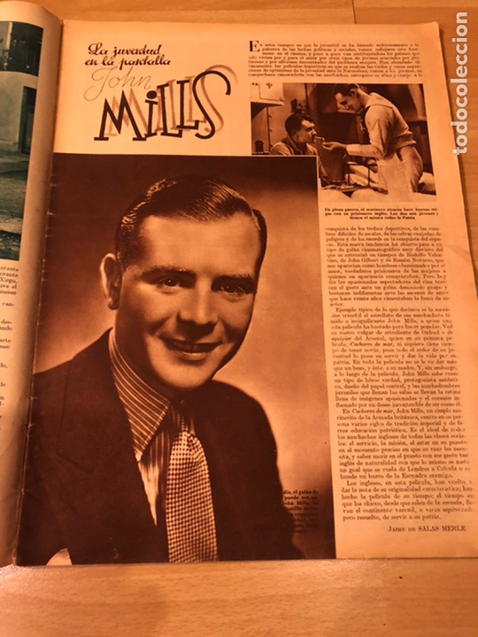 Cine: Cinegramas 80 marzo 1936.marta eggerth Brigitte helm norma shearer charlie chaplin charlot - Foto 6 - 183427632