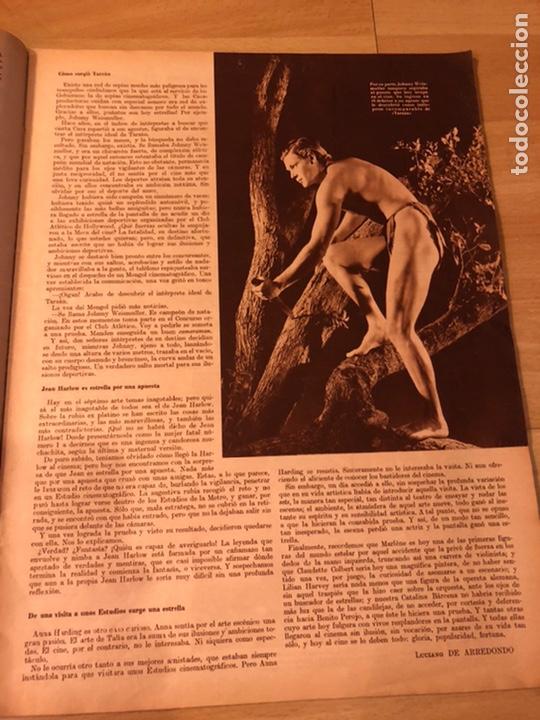 Cine: Cinegramas 80 marzo 1936.marta eggerth Brigitte helm norma shearer charlie chaplin charlot - Foto 8 - 183427632