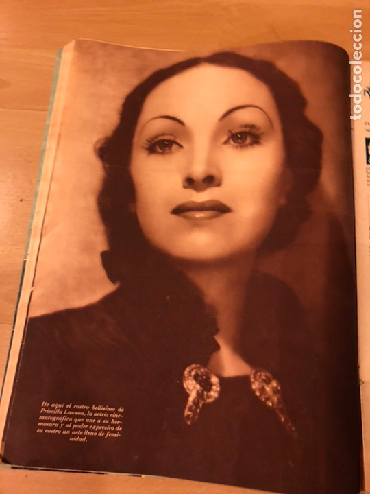Cine: Cinegramas 80 marzo 1936.marta eggerth Brigitte helm norma shearer charlie chaplin charlot - Foto 9 - 183427632