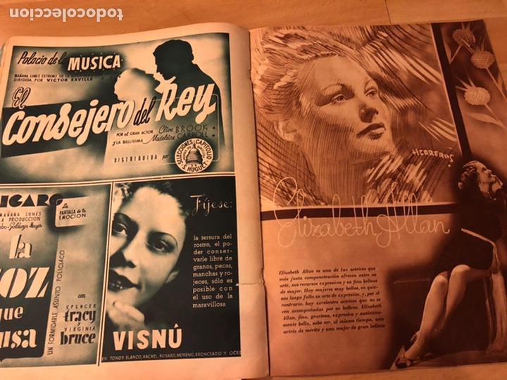 Cine: Cinegramas 80 marzo 1936.marta eggerth Brigitte helm norma shearer charlie chaplin charlot - Foto 10 - 183427632