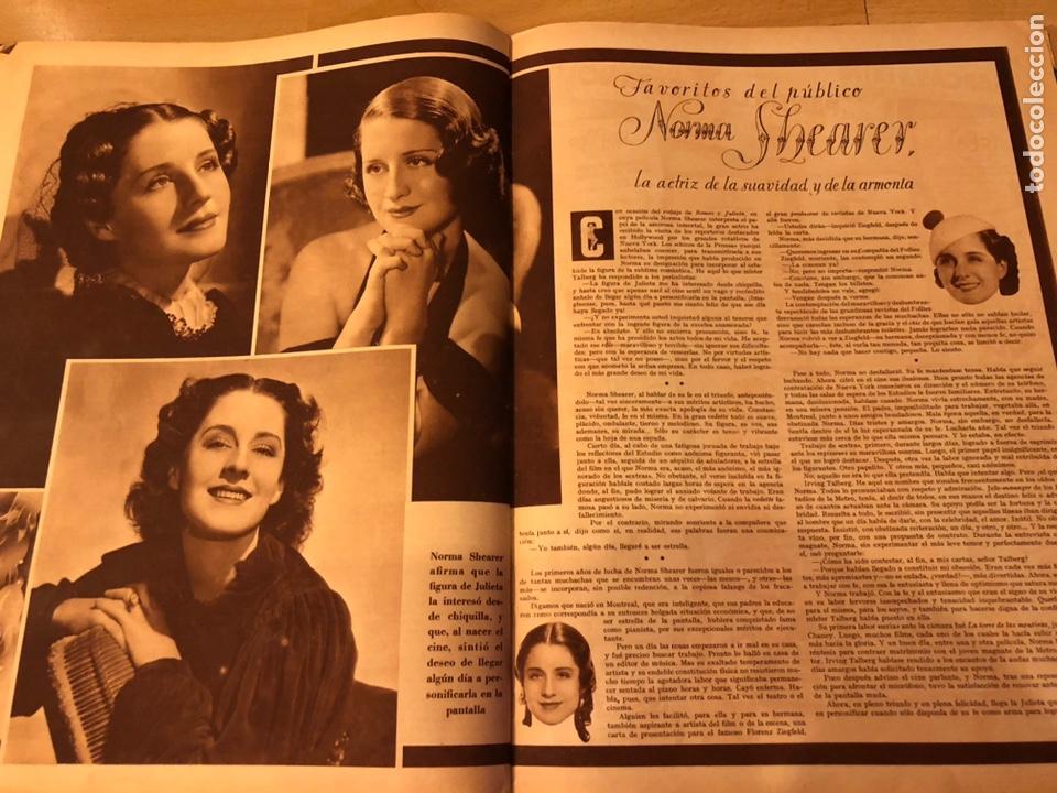 Cine: Cinegramas 80 marzo 1936.marta eggerth Brigitte helm norma shearer charlie chaplin charlot - Foto 12 - 183427632